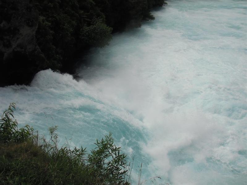 Huka Falls again!