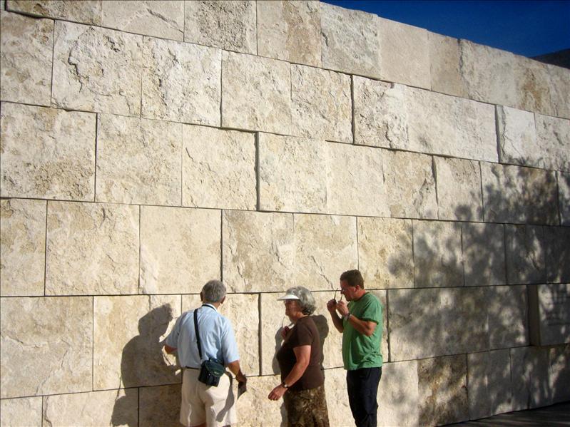 有讲究的石墙