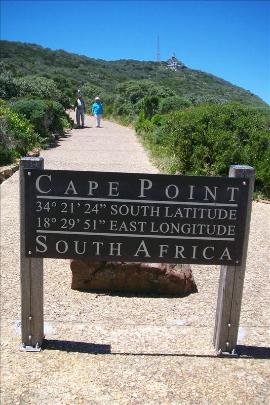Cape point (Cape of Good Hope National Park / Cap de bonne espérance)