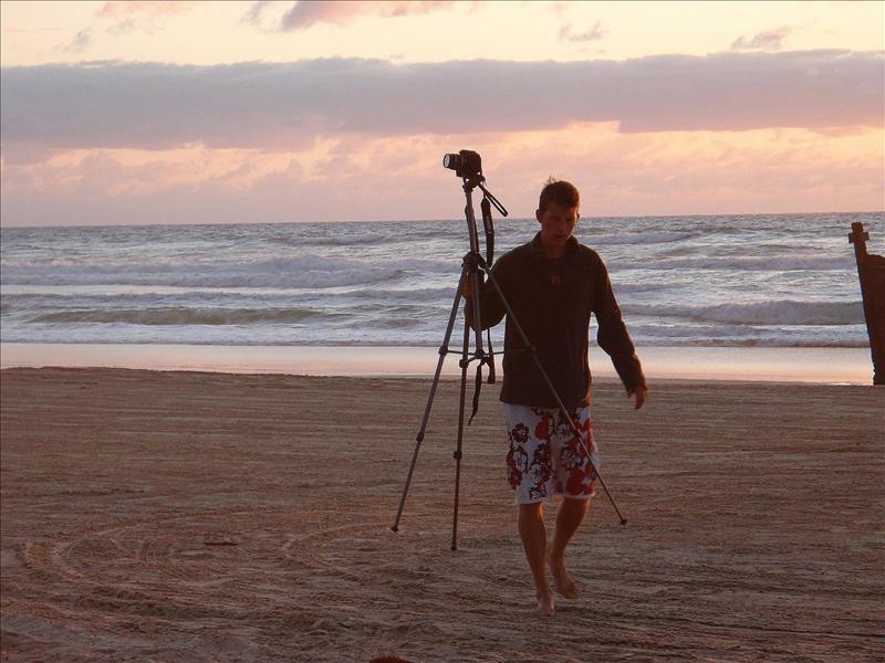 Fraser Island Sunrise.