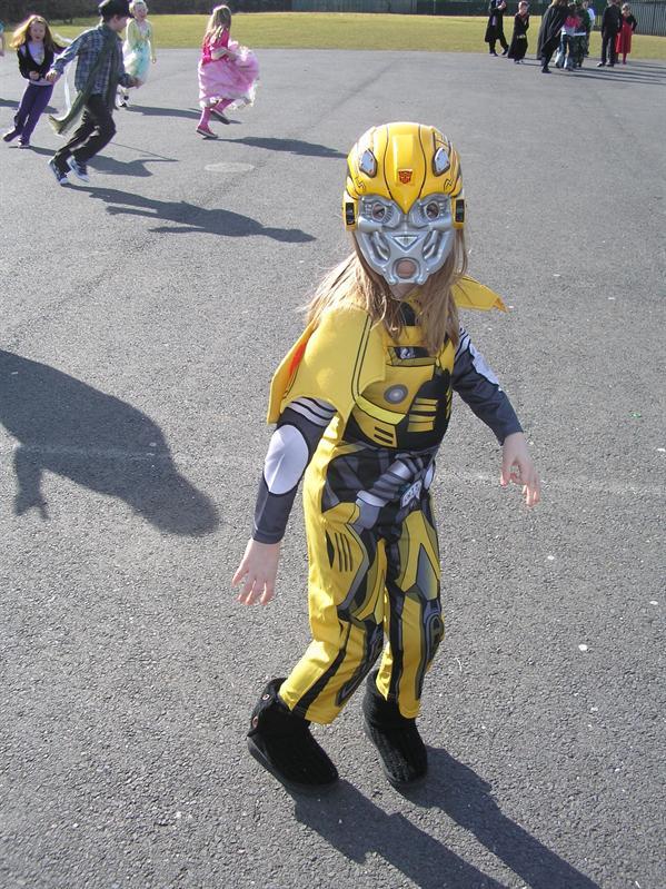 Transformer Costume?!