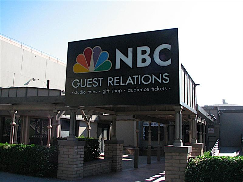 NBC Studio Tour (No pictures allowed inside)