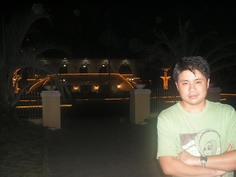 in front of Magsingal Municipal Hall