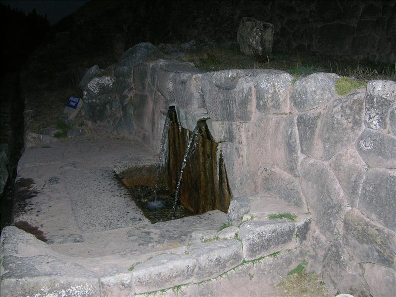 The fountain of youth, according to the Incas.  Not for drinking, but for applying to the face.  We'll see how it works.