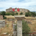 Selcuk Fortress Viewed from Basilica of St John
