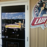Big Kahuna bar and grill entry door