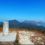 高約二百四十餘米的螺地墩(又稱蘿地墩) Lo Tei Tun
