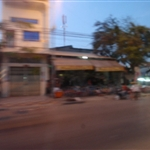 blurry Phnom Phen