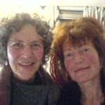 Vibe og Ester: Sidste aften sammen før vi ses i Goa- jan.2010