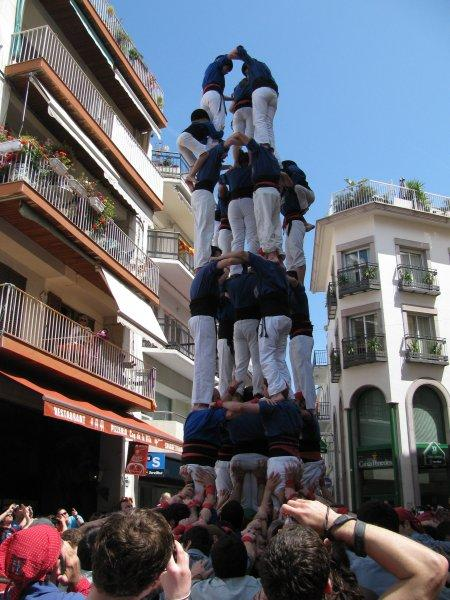 Human towers season starts again at Sitges.