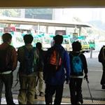沙田火車站出口巴士總站集合起歩