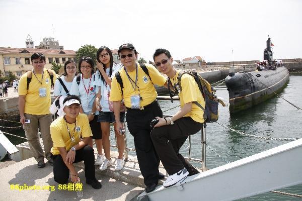 與4位導師合照 @ 海軍博物館
