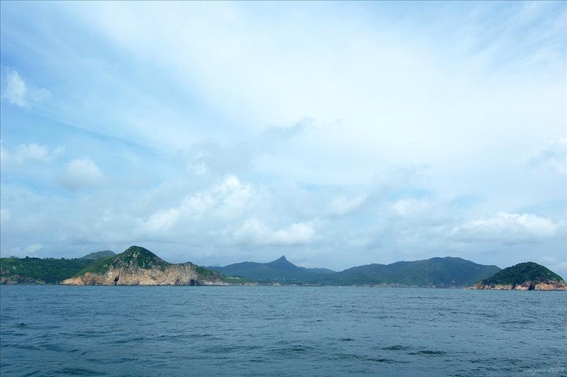 西貢3尖之一的釣魚翁