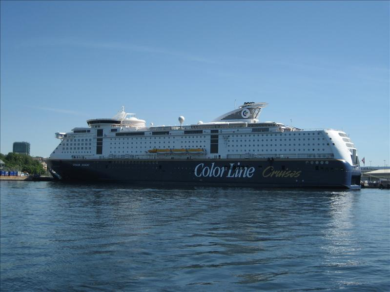 colorline - cruise to kiel in germany