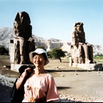 Colossi of Memnon, West Bank ,Luxor, Egypt