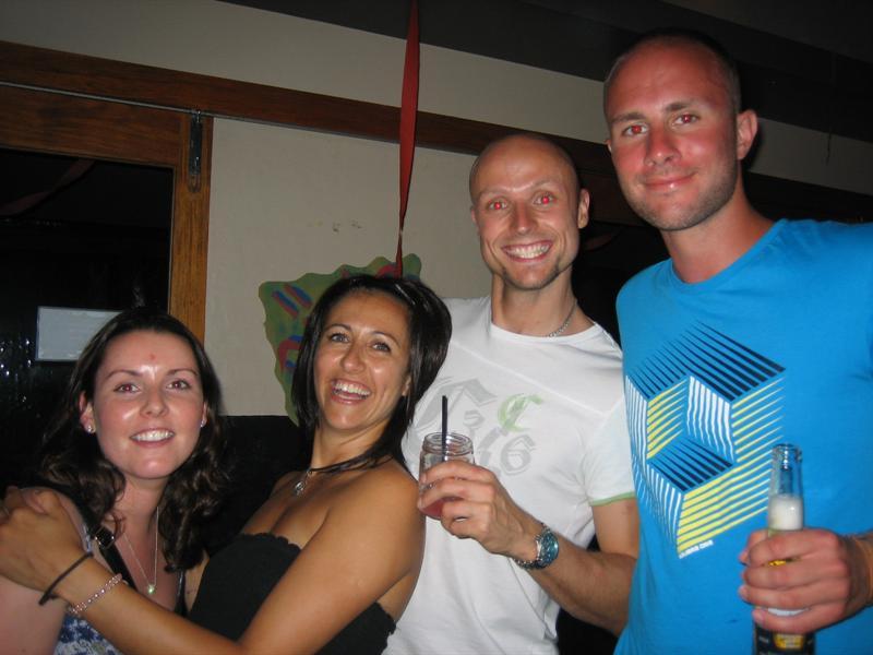 Mel, Joanne, Rupert, Jon