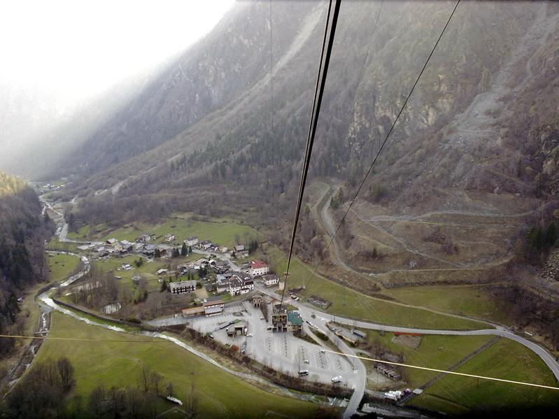 the ropeway station