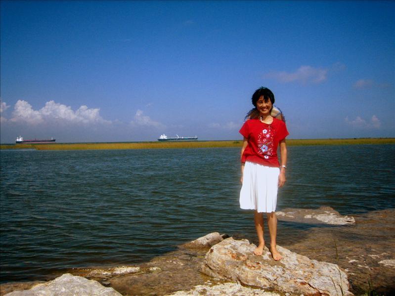墨西哥湾的女郎