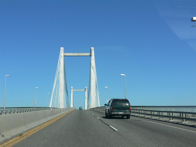 The bridge close up!
