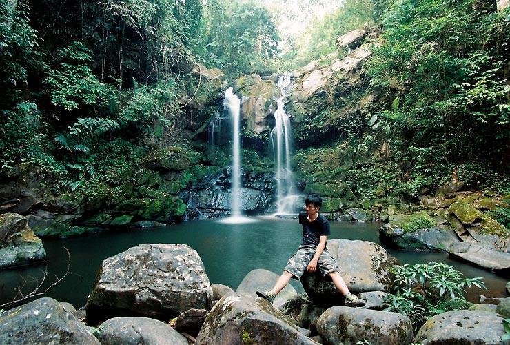 Sapann Waterfall and Me
