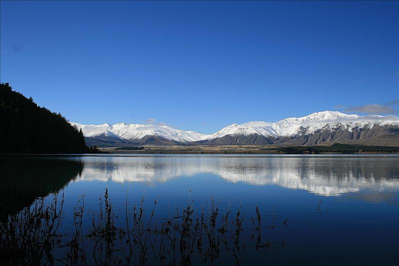 Lake Tekapo, our view :0)