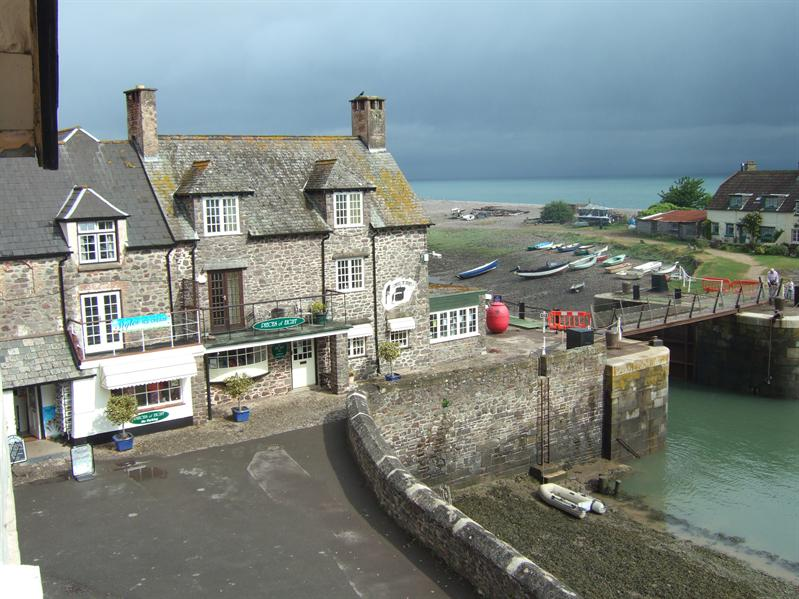 Porlock  Weir - View from The Anchor Hotel