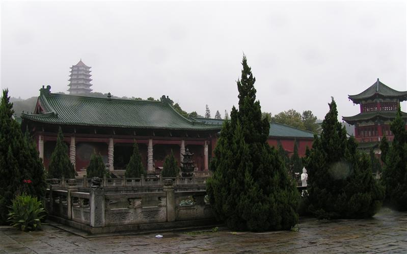 东林寺,(DongLin Temple), JiuJiang, JiangXi, China