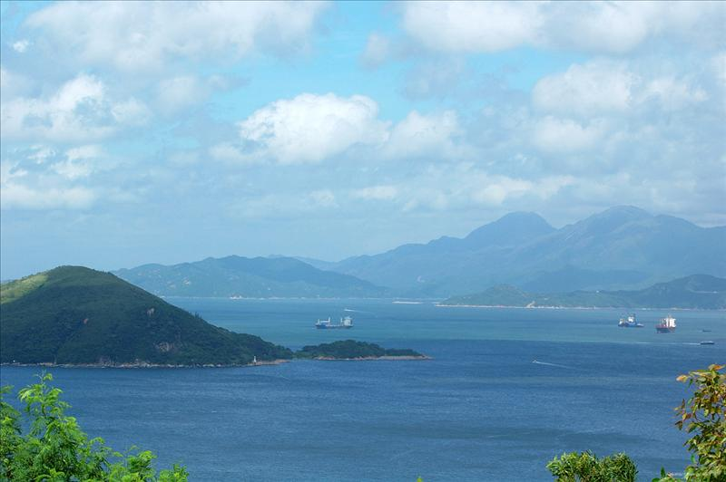 Lantau Scene with Pak Kok Shan in the front 大嶼山及前面的北角山