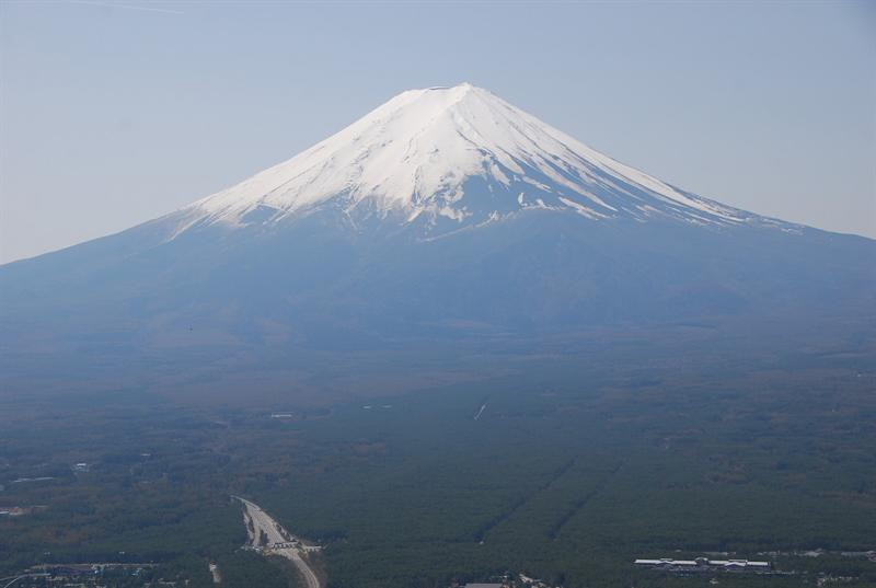 我深深了解為什麼富士山在日本人心中這麼響往