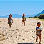 little children at Sapa village