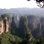 张家界,(ZhangJiaJie), HuNan, China, Jun 2004
