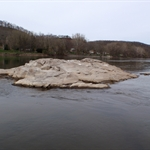 Juniata River 4-4-2010