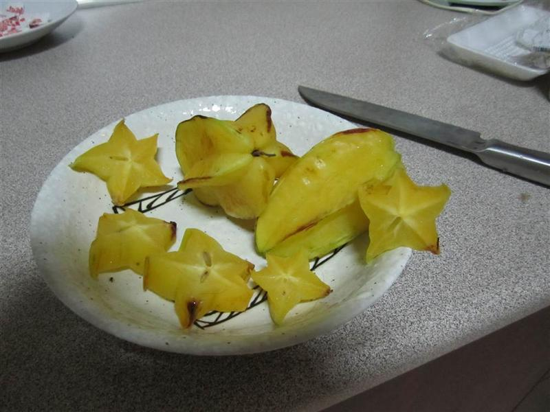 Stair fruit- owoc-gwiazda
