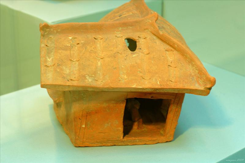 陶屋模型 Pottery Model