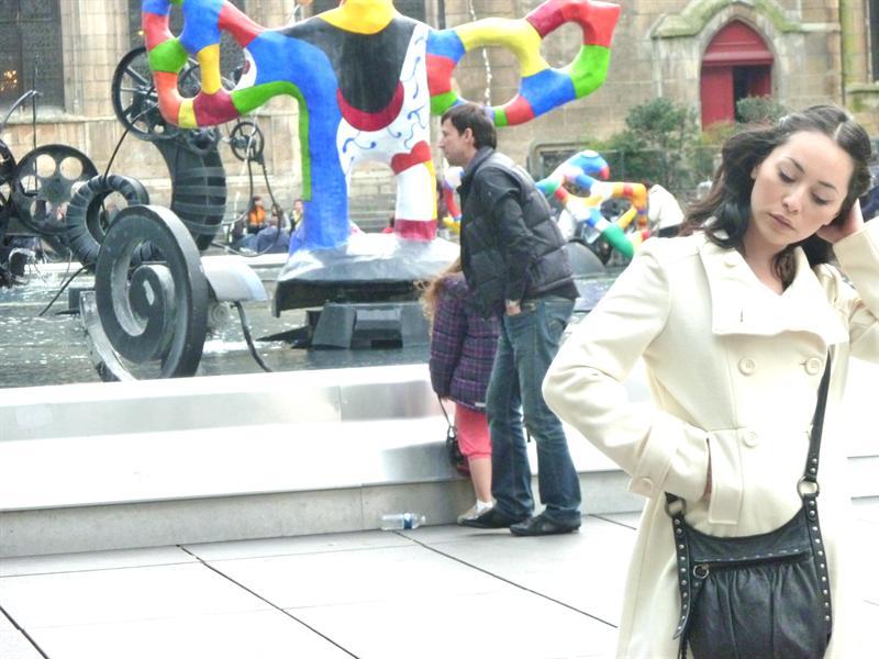 Outside Pompidou museum :D (9/25)