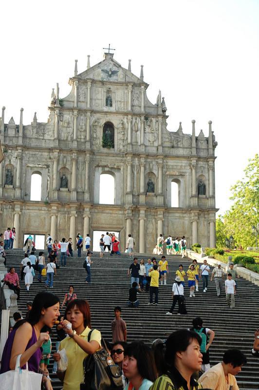 大三巴牌坊 Ruins of St. Paul's