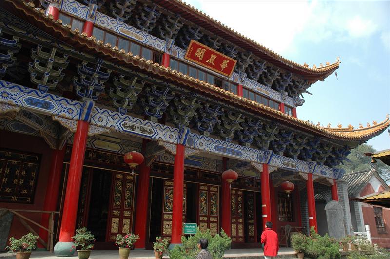 Bamboo Temple 筇竹寺