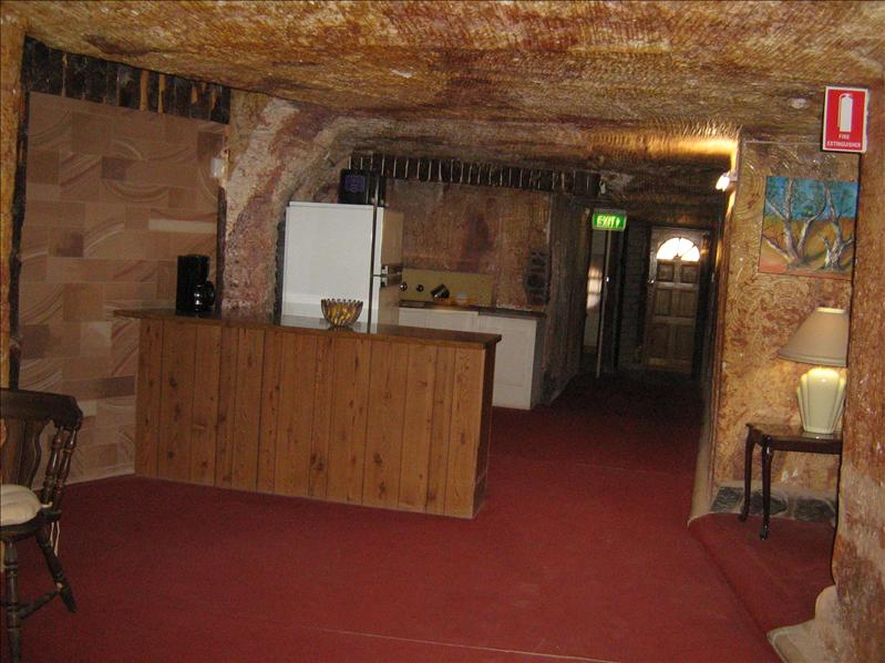 A typical home in Coober Pedy
