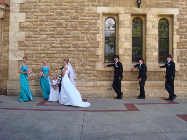 Wedding in UWA
