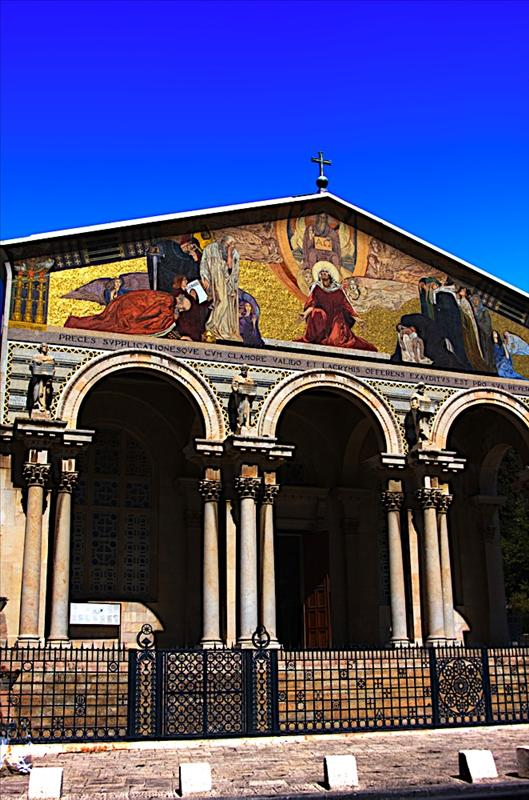 Church of All Nations, also known as the Church or Basilica of the Agony