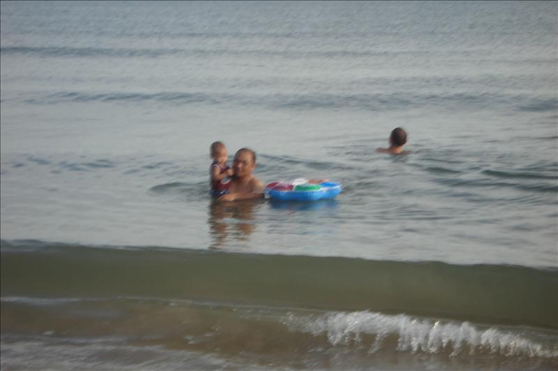 muara beach w/ grandpa