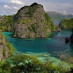 Palawan Island with it`s virgin rain forests