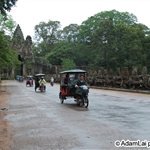 Tricycle out from angkor thom