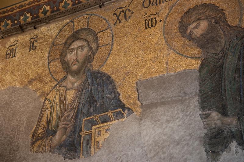 Mosaics in Aya Sofya