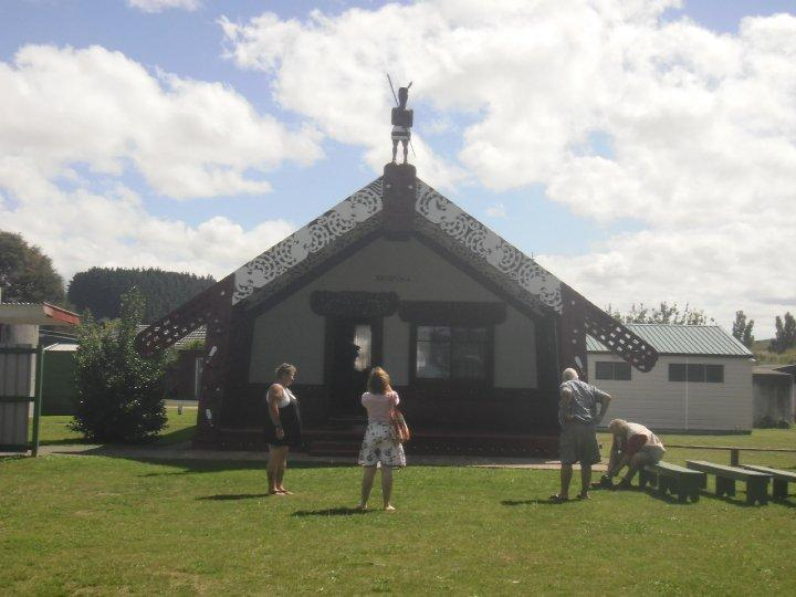 A local Marae - embracing the culture!