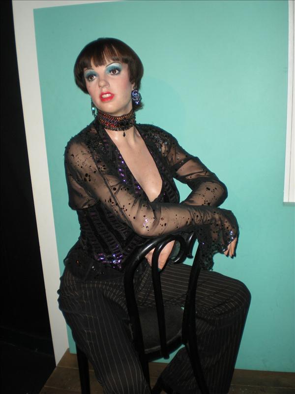 Liza Minelli, Madame Tussaude's Wax Museum - 20th May