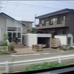 札幌火車窗外1