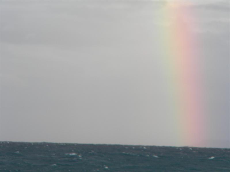 台東小野柳現彩虹