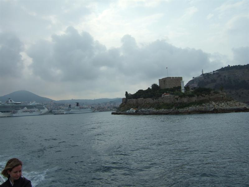 Leaving Kudasi for a Day in Samos