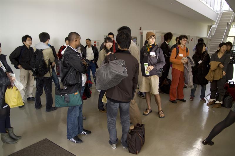 gathering at KISC